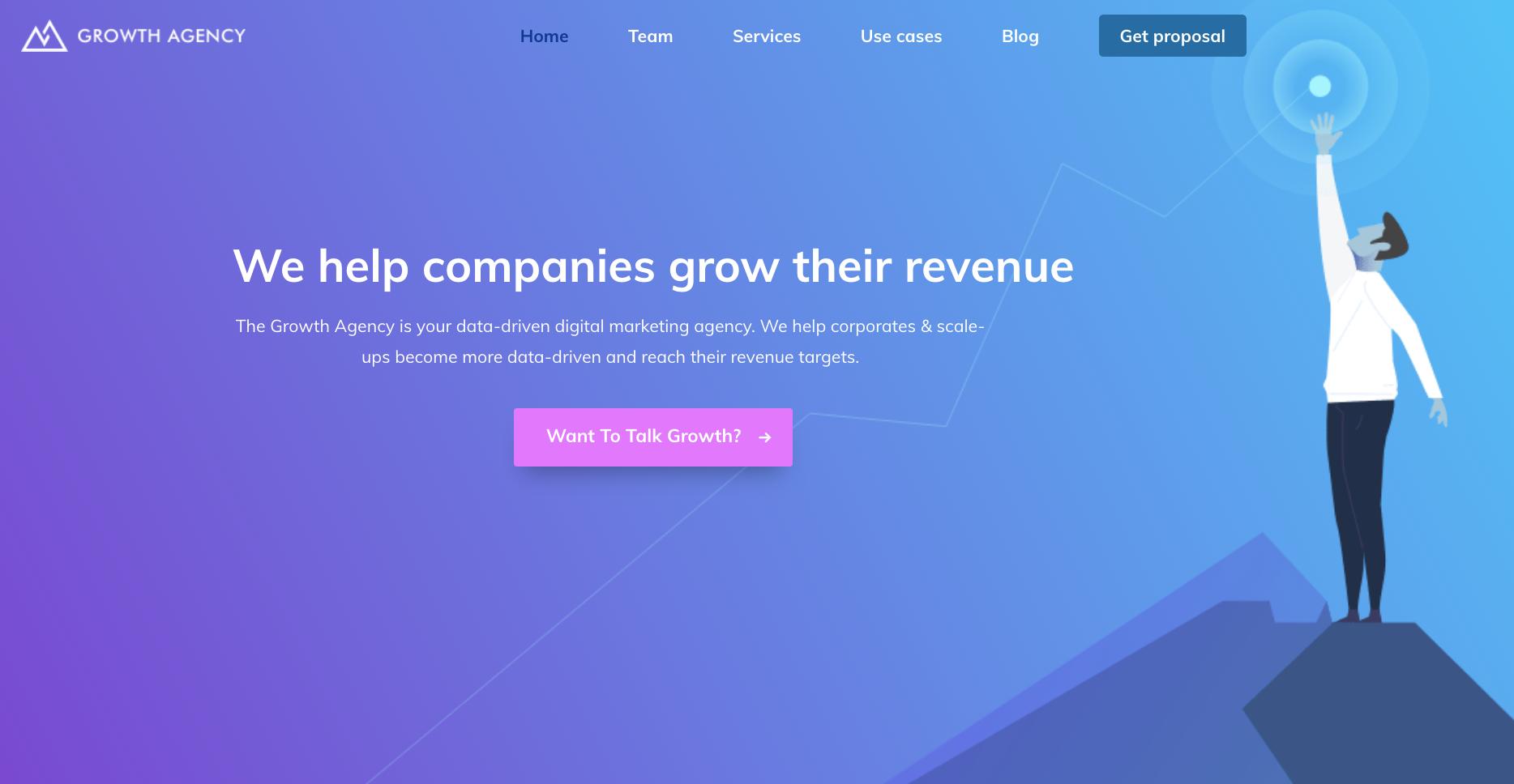 The Growth Agency | A Data-Driven Digital Marketing Agency